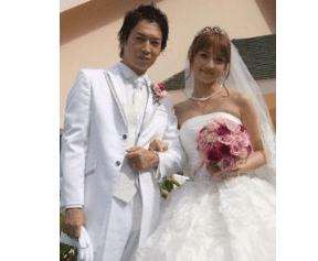 小倉優子 旦那 結婚式画像