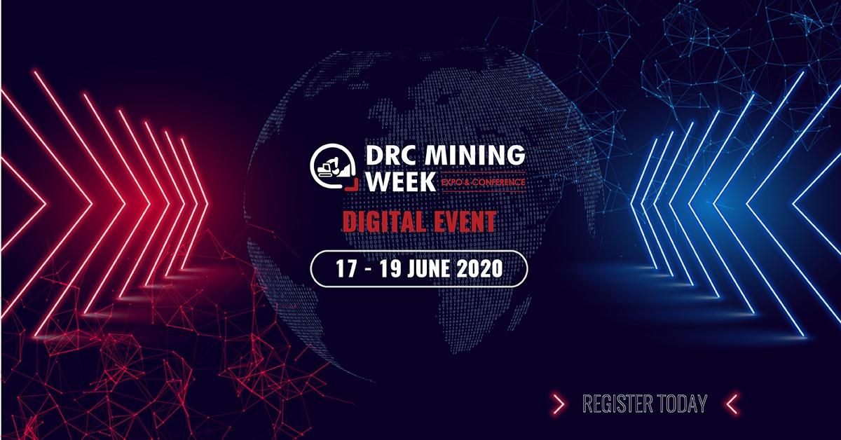 Invitation pour s'inscrire à l'événement numérique du DRC Mining Week