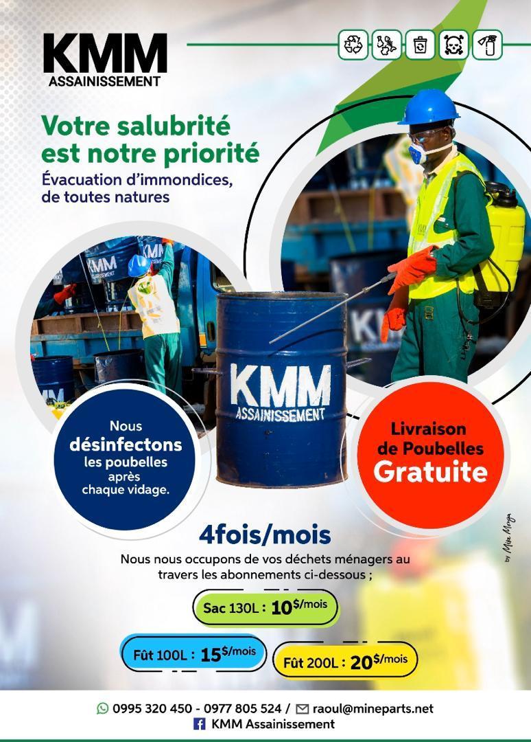 KMM, service d'assainissement