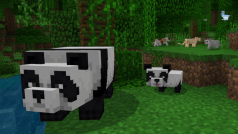 Windows 10 Minecraft Receives New Update: Pandas, Cats, And More