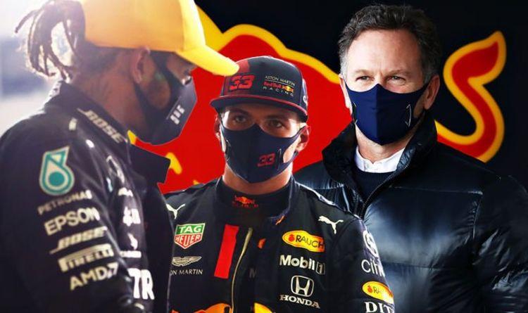 Red Bull boss backs down in Lewis Hamilton Mercedes war of words as Max Verstappen warned