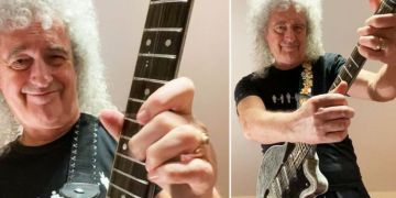 Brian May has been working 'insanely through the night' on new music – 'It's on the way!'
