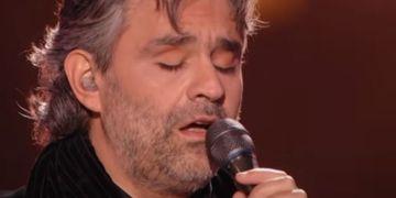 Andrea Bocelli sings Elvis Presley's Can't Help Falling In Love in Las Vegas – WATCH