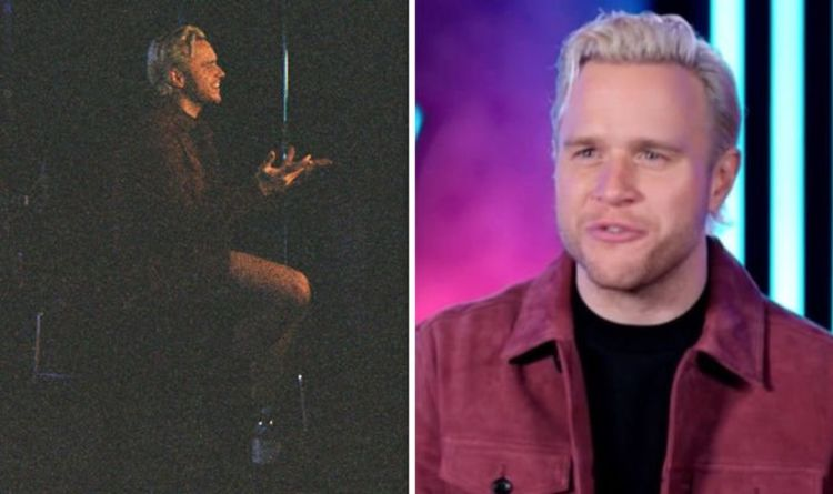 Olly Murs issues plea just minutes before going live on The Voice UK: 'Find my trousers!'