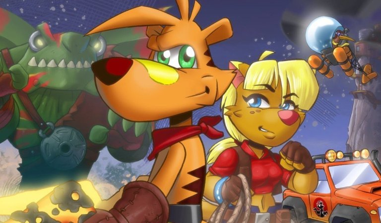 TY The Tasmanian Tiger 2: Bush Rescue HD Gets A New Switch Launch Trailer