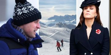 Kate Middleton: Prince William's behaviour 'humiliating' on lads skiing holiday