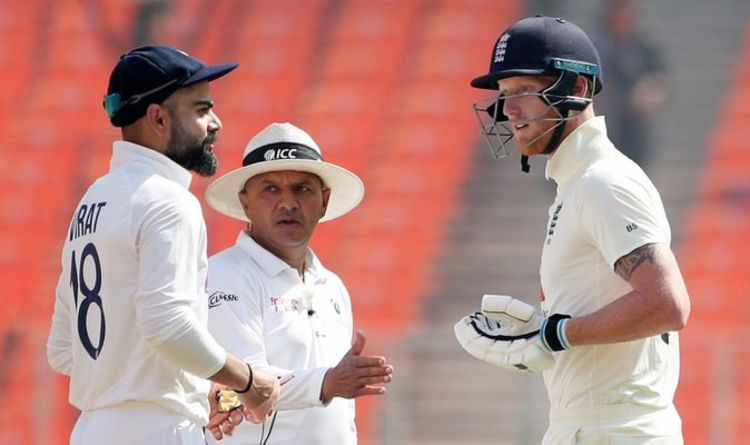 Virat Kohli and Ben Stokes separated by umpires during angry India vs England clash