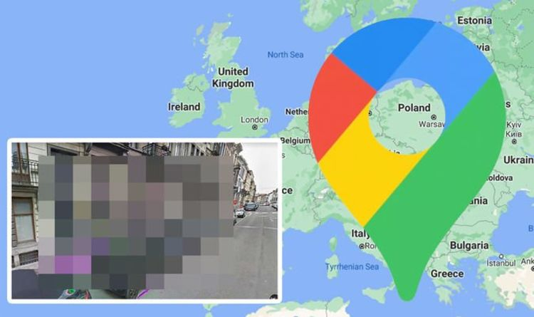 Google Maps Street View: Sinister substance caught taking over urban road – what is it?