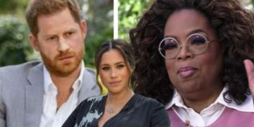 Oprah called out for 'interrupting' Meghan and Prince Harry during tell-all interview