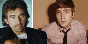 The Beatles: George Harrison's touching John Lennon tribute song written with the band