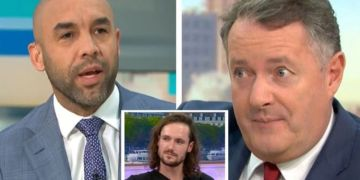 Piers Morgan's son Spencer claims Alex Beresford used GMB argument to 'boost his career'