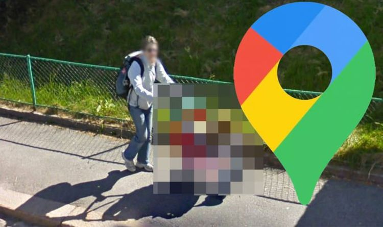 Google Maps Street View: Unexpected dog walking method catches viewers' attention