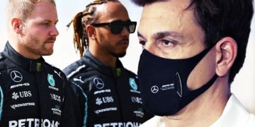 'F*** off' - Mercedes boss Toto Wolff snaps at Valtteri Bottas and Lewis Hamilton question