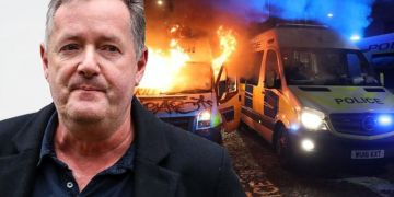 Piers Morgan slams 'disgusting scenes' at Bristol demonstration: 'Give police a break'