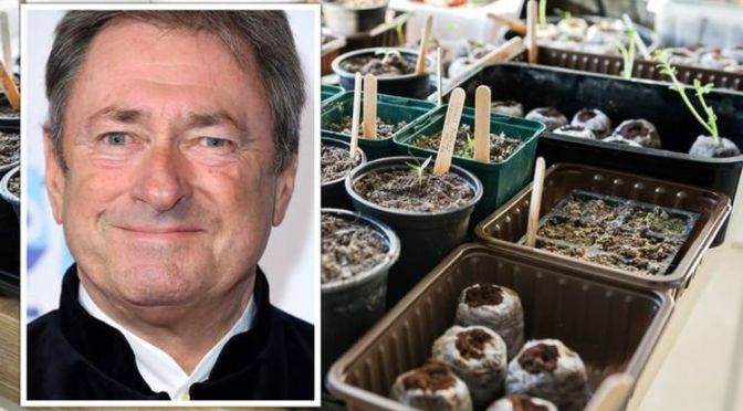 Alan Titchmarsh gives fellow gardeners advice on growing plants from seeds