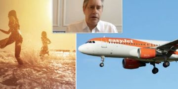 easyJet boss predicts European holidays could resume by June if 'green pass' goes to plan