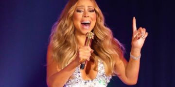 Mariah Carey on voice condition which provides her unique five-octave vocal range