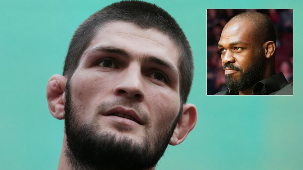 UFC's Jon Jones criticized for 'fragile male ego' after Khabib Nurmagomedov dig as Russian's EFC 34 delivers explosive KOs (VIDEO)