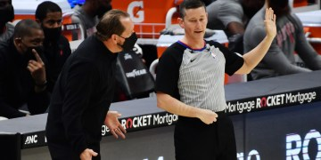 NBA accused of being 'soft' after fining Raptors coach Nick Nurse $50,000 for hurling facemask and swearing