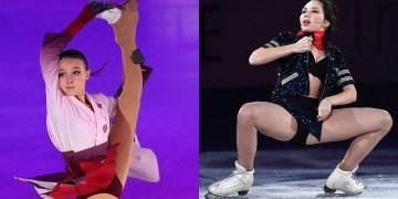 'Does her mother know she's wearing that?' Olympic champ Duhamel says she LOVES Tuktamysheva, but calls Shcherbakova 'sickly'