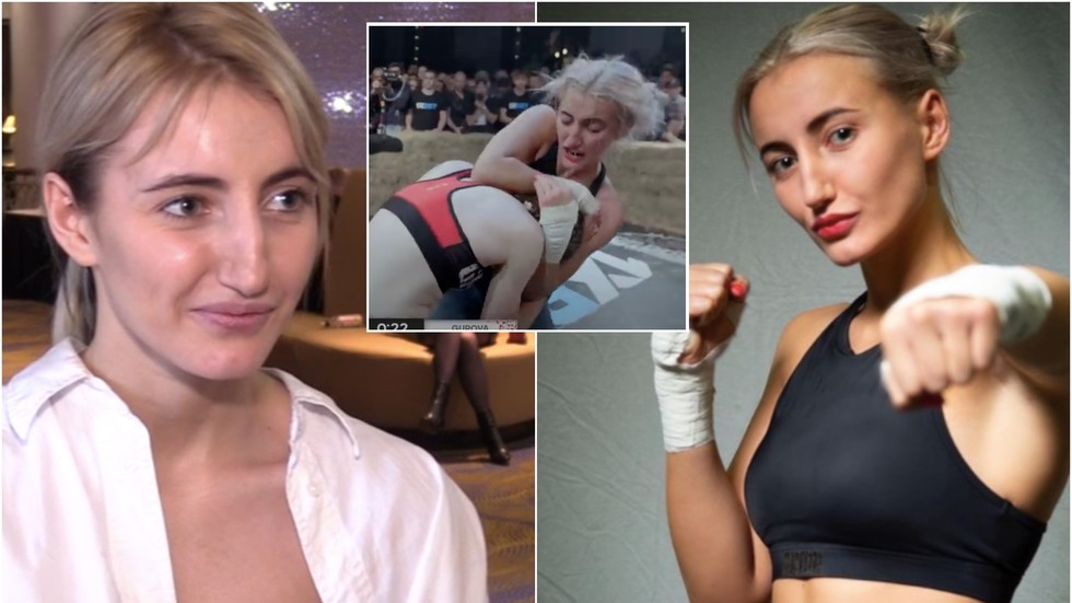 'After bare knuckle fights, boxing doesn't bother me!' Russia's best-looking BKB boxer - Olga Gurova (VIDEO)