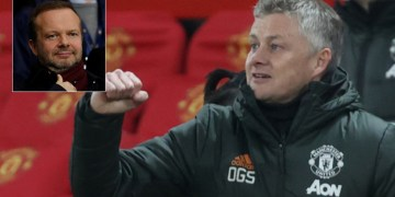 Ole in: Man United could reward boss Solskjaer with bumper new £13.75MN-a-year deal – even if he again fails to win silverware