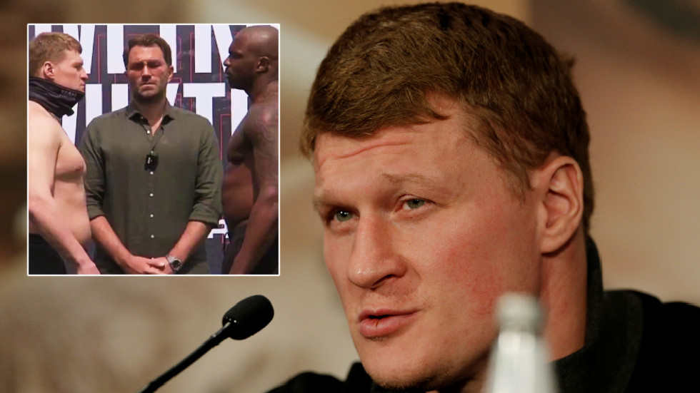 A heavier beating? Relaxed boxing underdog Povetkin weighs in at more for Whyte rematch than he did for sensational KO win (VIDEO)
