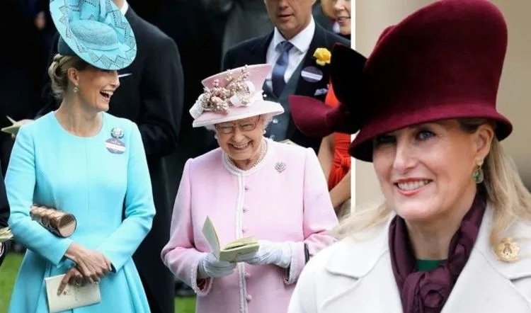 Sophie, Countess of Wessex's 'calm' and 'stoic' body language similar to Queen Elizabeths