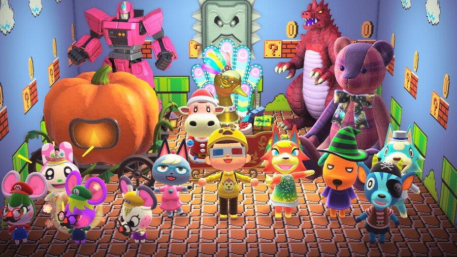 Animal Crossing New Horizons - A Year In Pictures