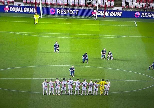 Lacazette's superb, defiant statement in face of Slavia Prague players