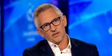 Gary Lineker sums up Liverpool's first-half vs Real Madrid in just a few words