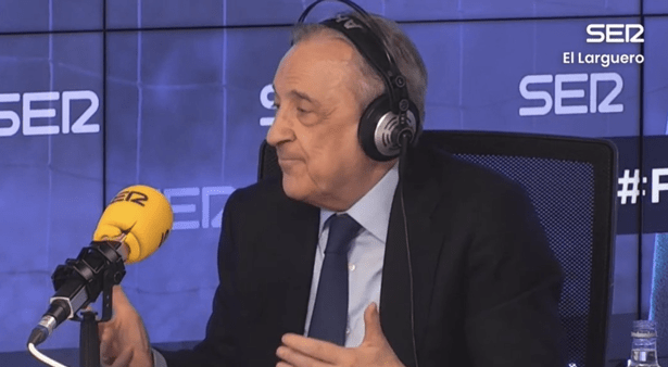 Florentino Perez issues threat to big six and discusses fine for leaving