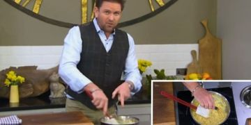 James Martin shares easy Welsh rarebit recipe for an Easter weekend treat