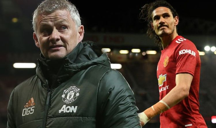 Man Utd boss Solskjaer drops Edinson Cavani transfer hint with Mason Greenwood praise