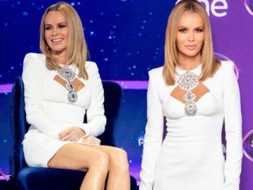 Amanda Holden leaves I Can See Your Voice viewers 'melting' with sultry outfit