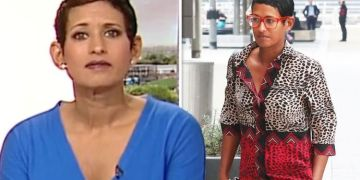 Naga Munchetty reaches out to BBC colleague as she shares heartbreaking loss live on air