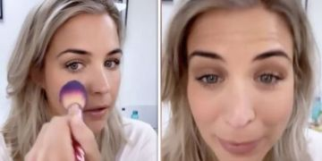 Gemma Atkinson worries she looks like she's been 'punched' before Packed Lunch appearance