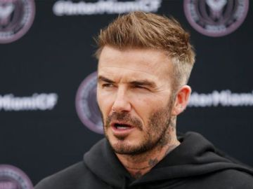 David Beckham 'mortified' after Prince Harry and Meghan Markle row 'got awkward'