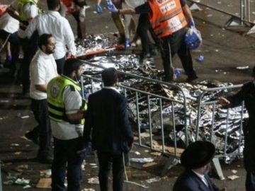 Israel bonfire disaster: At least 38 killed in stampede at religious festival - updates