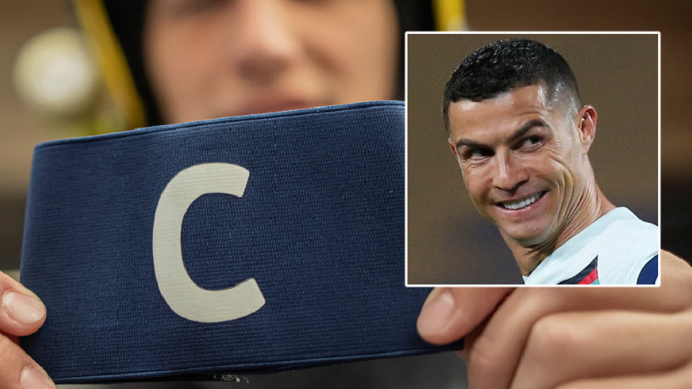 'We could not believe it': Mother's joy after Ronaldo's armband, which he hurled after Serbia goal tantrum, is flogged at auction