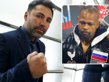 And the Oscar goes to... Boxing champ Roy Jones Jr. 'willing to fight Oscar De La Hoya' in latest vintage comeback bout