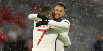 Double act Mbappe and Neymar fire pair of goals and assists in PSG-Bayern 3-2 thriller