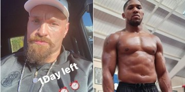 'One day left': Tyson Fury fires warning as Anthony Joshua promises to 'share positive news soon' about boxing megafight