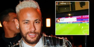 'That's how you stay a multi-millionaire': Neymar accused of watching illegal football streams after fans spot 'sexy singles' ad