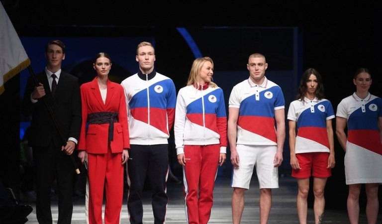 'Is the Russian flag banned?' Western media fume as Russia unveils stylish neutral Olympic uniform for Tokyo Games
