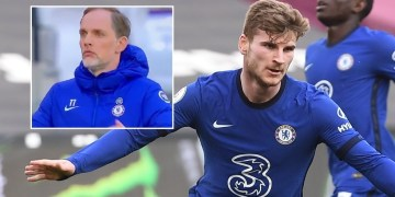 Tuchel in disbelief as Werner misses INCREDIBLE chance at West Ham – but forward ends goal drought to give Chelsea win (VIDEO)