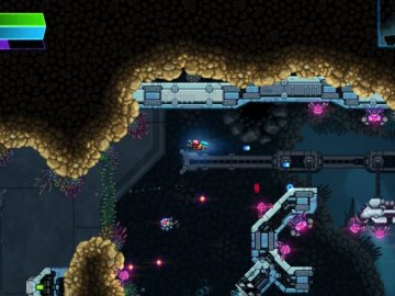 Mini Review: Astro Aqua Kitty - A Visually Sumptuous Shmup Sequel