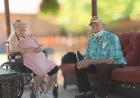 Georgetown couple of 50 years reunites for first time