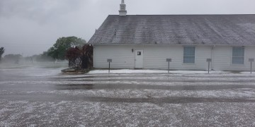 Hail pummels parts of Burnet