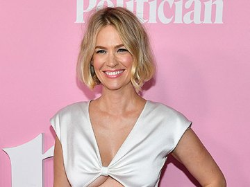 January Jones, 43, Wears Just Sunglasses & Pink Pants As She Jokes She 'Can't Find A Top' — See Pic